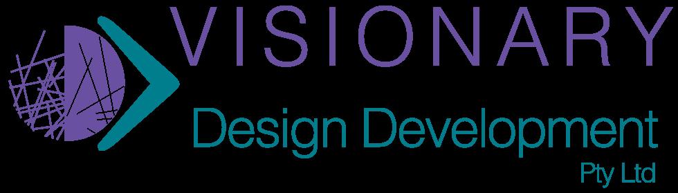 Logo for Visionary Design Development